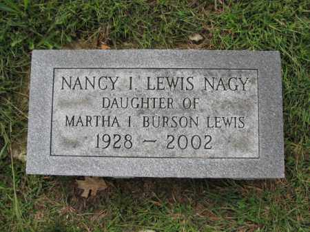 NAGY, NANCY I. LEWIS - Union County, Ohio | NANCY I. LEWIS NAGY - Ohio Gravestone Photos