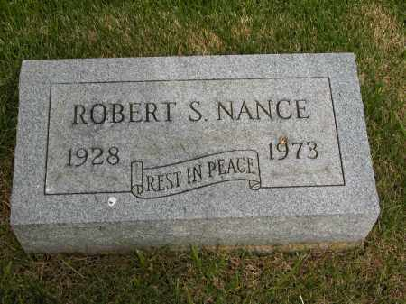 NANCE, ROBERT S. - Union County, Ohio | ROBERT S. NANCE - Ohio Gravestone Photos