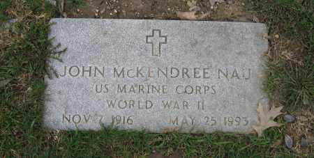 NAU, JOHN MCKENDREE - Union County, Ohio | JOHN MCKENDREE NAU - Ohio Gravestone Photos