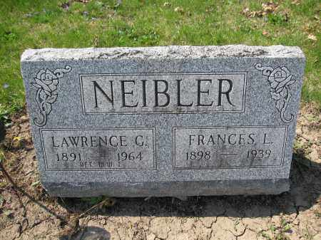 NEIBLER, LAWRENCE C. - Union County, Ohio | LAWRENCE C. NEIBLER - Ohio Gravestone Photos