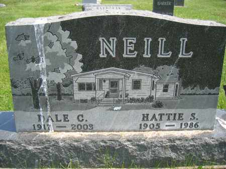 NEILL, HATTIE S. - Union County, Ohio | HATTIE S. NEILL - Ohio Gravestone Photos