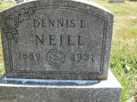 NEILL, DENNIS L. - Union County, Ohio | DENNIS L. NEILL - Ohio Gravestone Photos
