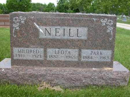 NEILL, MILDRED - Union County, Ohio | MILDRED NEILL - Ohio Gravestone Photos