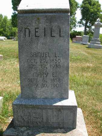 NEILL, MARY E. - Union County, Ohio | MARY E. NEILL - Ohio Gravestone Photos