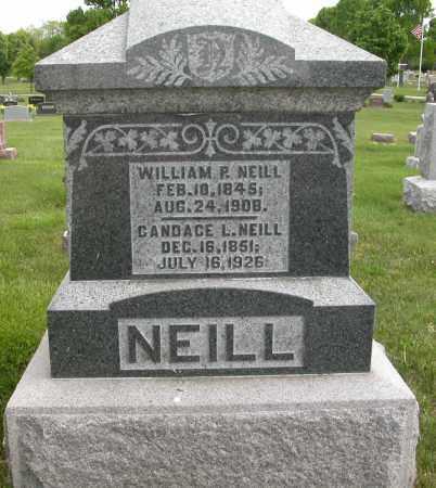 NEILL, WILLIAM P. - Union County, Ohio | WILLIAM P. NEILL - Ohio Gravestone Photos