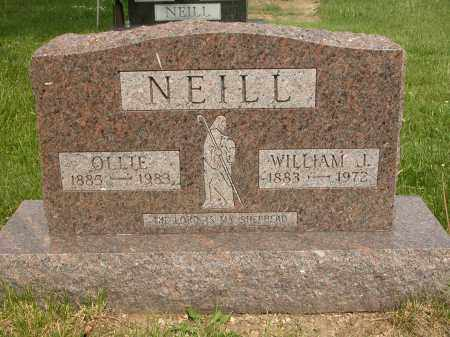 NEILL, WILLIAM J. - Union County, Ohio | WILLIAM J. NEILL - Ohio Gravestone Photos