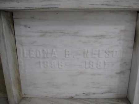 NELSON, LEONA B. - Union County, Ohio | LEONA B. NELSON - Ohio Gravestone Photos