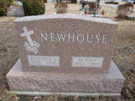 NEWHOUSE, M. GUY - Union County, Ohio | M. GUY NEWHOUSE - Ohio Gravestone Photos