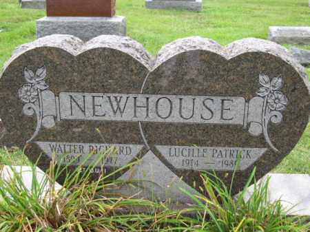 NEWHOUSE, LUCILLE PATRICK - Union County, Ohio | LUCILLE PATRICK NEWHOUSE - Ohio Gravestone Photos