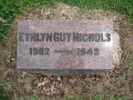 NICHOLS, ETHLYN GUY - Union County, Ohio | ETHLYN GUY NICHOLS - Ohio Gravestone Photos