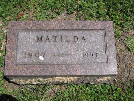 NICOL, MATILDA - Union County, Ohio | MATILDA NICOL - Ohio Gravestone Photos