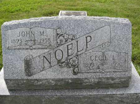 NOELP, CECIL L. - Union County, Ohio | CECIL L. NOELP - Ohio Gravestone Photos