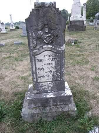 NONEMAKER, JOHN - Union County, Ohio | JOHN NONEMAKER - Ohio Gravestone Photos
