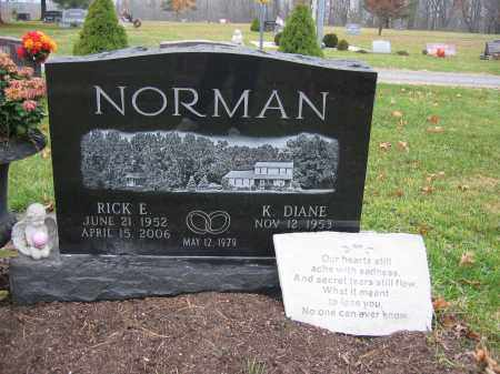 NORMAN, RICK EUGENE - Union County, Ohio | RICK EUGENE NORMAN - Ohio Gravestone Photos