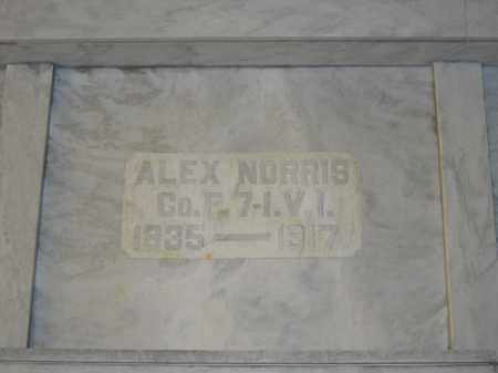 NORRIS, ALEX - Union County, Ohio | ALEX NORRIS - Ohio Gravestone Photos