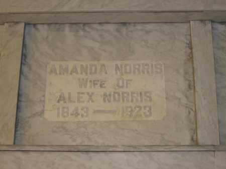 NORRIS, AMANDA - Union County, Ohio | AMANDA NORRIS - Ohio Gravestone Photos