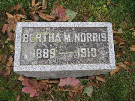NORRIS, BERTHA M. - Union County, Ohio | BERTHA M. NORRIS - Ohio Gravestone Photos