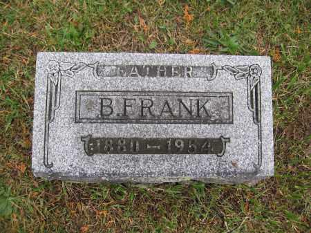 NORRIS, B. FRANK - Union County, Ohio | B. FRANK NORRIS - Ohio Gravestone Photos