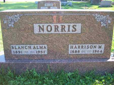 NORRIS, BLANCH ALMA - Union County, Ohio | BLANCH ALMA NORRIS - Ohio Gravestone Photos