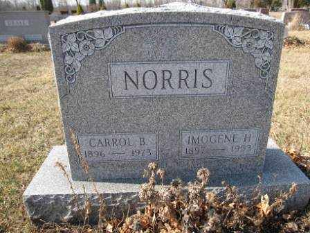 NORRIS, CARROL B. - Union County, Ohio | CARROL B. NORRIS - Ohio Gravestone Photos