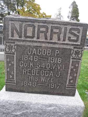 NORRIS, REBECCA J. - Union County, Ohio | REBECCA J. NORRIS - Ohio Gravestone Photos