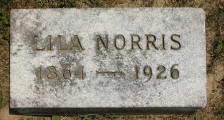 NORRIS, LILA - Union County, Ohio | LILA NORRIS - Ohio Gravestone Photos