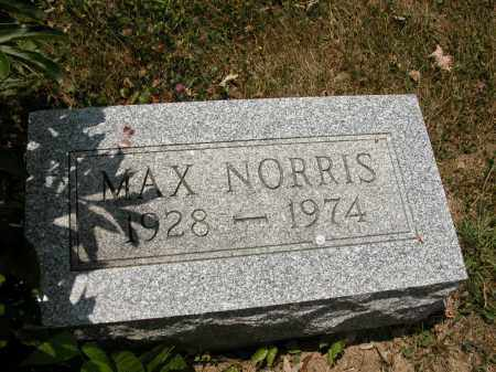 NORRIS, MAX - Union County, Ohio | MAX NORRIS - Ohio Gravestone Photos