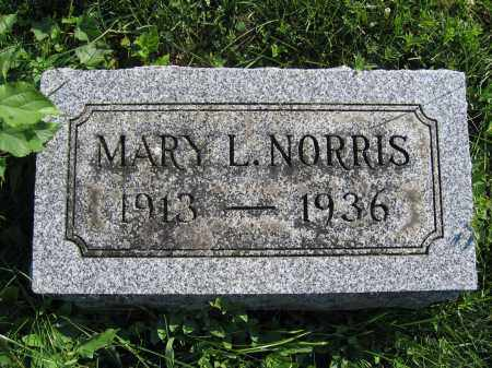 NORRIS, MARY L. - Union County, Ohio | MARY L. NORRIS - Ohio Gravestone Photos