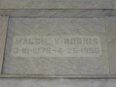 NORRIS, MAGGIE V. - Union County, Ohio | MAGGIE V. NORRIS - Ohio Gravestone Photos