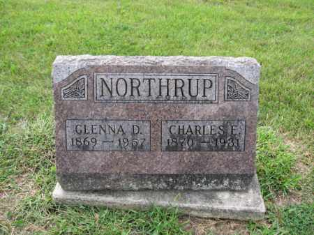 NORTHRUP, CHARLES ELMER - Union County, Ohio | CHARLES ELMER NORTHRUP - Ohio Gravestone Photos