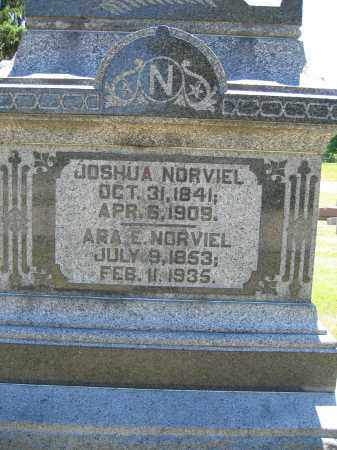 NORVIEL, ARA E. - Union County, Ohio | ARA E. NORVIEL - Ohio Gravestone Photos