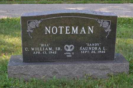 NOTEMAN, C. WILLIAM - Union County, Ohio | C. WILLIAM NOTEMAN - Ohio Gravestone Photos