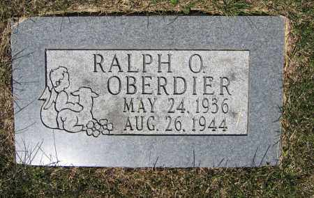 OBERDIER, RALPH O. - Union County, Ohio | RALPH O. OBERDIER - Ohio Gravestone Photos