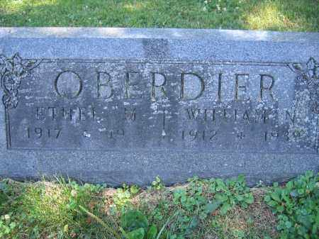 OBERDIER, WILLIAM N. - Union County, Ohio | WILLIAM N. OBERDIER - Ohio Gravestone Photos