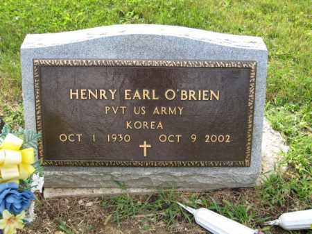 O'BRIEN, HENRY EARL - Union County, Ohio | HENRY EARL O'BRIEN - Ohio Gravestone Photos