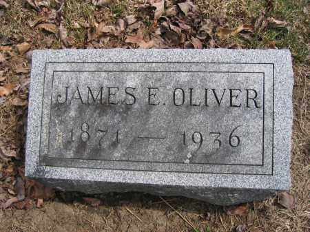 OLIVER, JAMES E. - Union County, Ohio | JAMES E. OLIVER - Ohio Gravestone Photos
