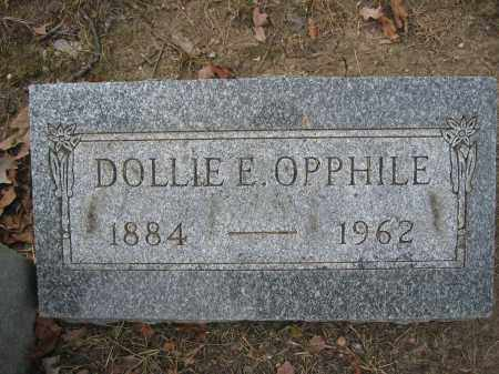 OPPHILE, DOLLIE E. - Union County, Ohio | DOLLIE E. OPPHILE - Ohio Gravestone Photos