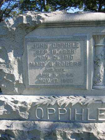 OPPIHLE, JOHN - Union County, Ohio | JOHN OPPIHLE - Ohio Gravestone Photos