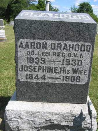 ORAHOOD, JOSEPHINE - Union County, Ohio | JOSEPHINE ORAHOOD - Ohio Gravestone Photos