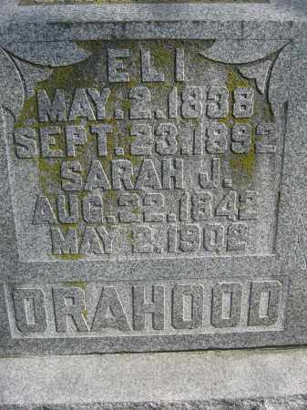 ORAHOOD, SARAH J. - Union County, Ohio | SARAH J. ORAHOOD - Ohio Gravestone Photos
