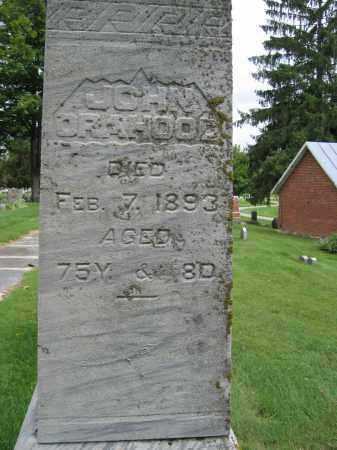 ORAHOOD, JOHN - Union County, Ohio   JOHN ORAHOOD - Ohio Gravestone Photos
