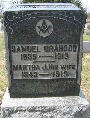ORAHOOD, MARTHA J. - Union County, Ohio | MARTHA J. ORAHOOD - Ohio Gravestone Photos