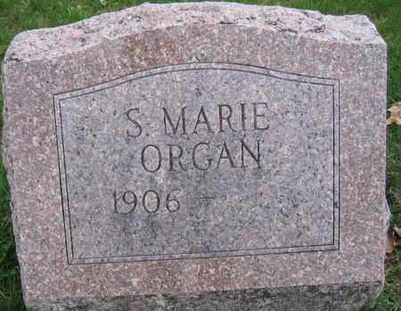 ORGAN, S. MARIE - Union County, Ohio | S. MARIE ORGAN - Ohio Gravestone Photos