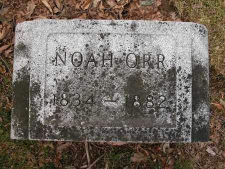 ORR, NOAH - Union County, Ohio | NOAH ORR - Ohio Gravestone Photos