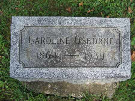 OSBORNE, CAROLINE - Union County, Ohio | CAROLINE OSBORNE - Ohio Gravestone Photos