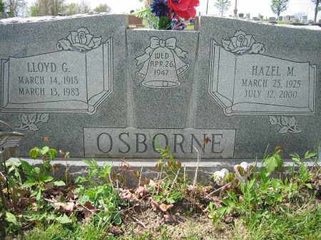 OSBORNE, LLOYD G. - Union County, Ohio | LLOYD G. OSBORNE - Ohio Gravestone Photos