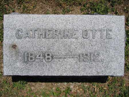 OTTE, CATHERINE - Union County, Ohio | CATHERINE OTTE - Ohio Gravestone Photos