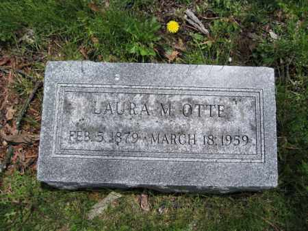 OTTE, LAURA M. - Union County, Ohio | LAURA M. OTTE - Ohio Gravestone Photos
