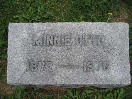 OTTE, MINNIE - Union County, Ohio | MINNIE OTTE - Ohio Gravestone Photos