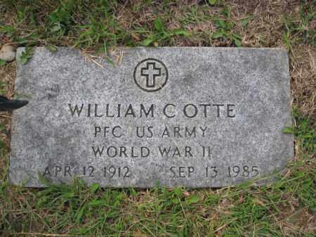 OTTE, WILLIAM C. - Union County, Ohio | WILLIAM C. OTTE - Ohio Gravestone Photos